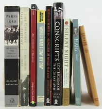 World War I - Nine Important Books - British Military Leaders, End of War, Paris