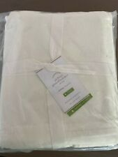 Pottery Barn Basic Pleated Cotton Bed Skirt, 18in drop, cal king size