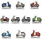 NEW 2017 MOBYLETTE CYCLOMOTEUR SCOOTER PEUGEOT FEVE PORCELAINE 3D HO 1950/1989