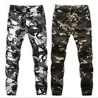 Mens Casual Military Army Cool Cargo Camo Combat Work Pants Trousers Hot BB111
