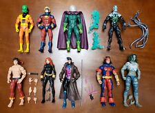 "Hasbro Marvel Legends Series Loose 6"" Action Figure Lot x9 Figures No BAF Pieces"