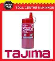 TAJIMA RED 300g MICRO POWER CHALK SNAP LINE CHALK
