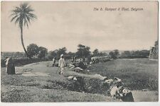 POSTCARD  INDIA  BELGAUM  Ramparts and Moat