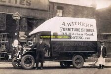 rp14069 - Withers Furniture Stores Lorry , Tooting , London - photo 6x4