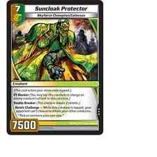 Kaijudo X3 SUNCLOAK PROTECTOR Rare #85/110 7CLA (Playset) Clash of DUEL MASTERS