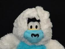 Disney Club Penguin Plush White Abominable Snowman Snowsuit Plush Stuffed Animal