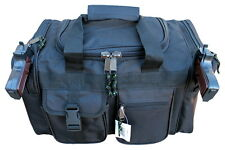 "20"" Black SWAT Police Duffle Duty Bag Gun Hunting Carry On Luggage Light Range"