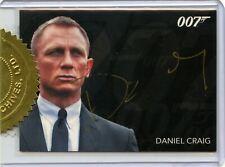 James Bond Classics 2016 Daniel Craig 9-Case Incentive Gold Autograph Card