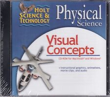 Holt Science & Technology Physical Science Visual Concepts PC CD-ROM **NEW**