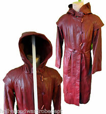 Monk Robe star trench hood long obi war robe leather wan kenobi steampunk wicca