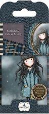 Gorjuss Girl SANTORO Cling Unmounted Rubber Stamp WHITE RABBIT GOR 907307 NEW