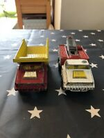 **PLAYED WITH CONDITION** Matchbox Battle & Super Kings Trucks