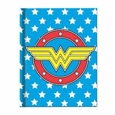 Wonder Woman Uniform Blue Hard Cover Journal 6in x 8 in Hard Cover Notebook DC