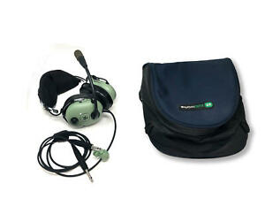 David Clark Headset with Carry Case - Used once