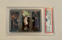 2003-04 Topps Rookie Matrix LeBron James / C. Bosh / Dwayne Wade RC PSA 8 NM MT