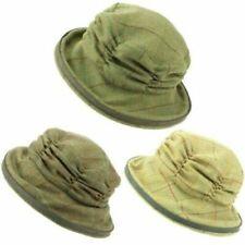 Gorras y sombreros de mujer cloches 100% lana