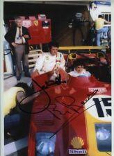 Jacky Ickx & Brian Redman Ferrari 312 PB Le Mans 1973 Signed Photograph