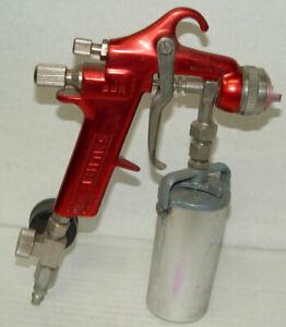 BINKS Model BBR Pressure Paint Spray Gun with Binks Tank