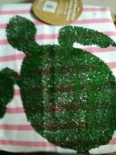 New Pottery Barn Teen Turtle Sea Breeze Stripe Beanbag Slipcover pink Large