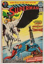 Superman #249 March 1972 VF 8.0 DC Comics 1st Terra Man