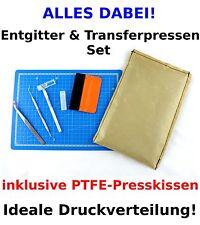 6-tlg, Textilveredelungs-Set Schneidematte+PTFE-Kissen+Entgittertool u.v.m.!!