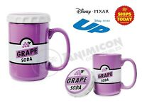 Disney Parks GRAPE SODA MUG WITH LID Cap 15Oz Coffee Cup PIXAR Store NEW 2021