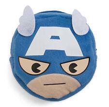 Marvel Kawaii Art Collection Captain America Face Pocket Pouch Bag