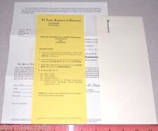 Party Invitations Official Summons to a Party Unique Fun Rare HTF NEW NEW NEW