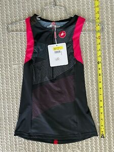 Castelli Cycling Free Women's Triathlon Singlet - Multicolor Black