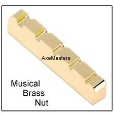 AxeMasters BRASS NUT made for Ibanez SR Series 5 String Bass Guitar