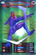 Spiderman Heroes And Villains Card #161 Boomerang Lenticular