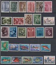Yugoslavia COMPLETE YEAR SET sport-olympic games, art,fauna 1956 MNH **