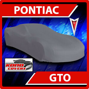 [PONTIAC GTO] CAR COVER - Ultimate Full Custom-Fit All Weather Protection