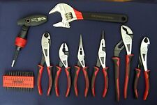 NEW CRAFTSMAN PROFESSIONAL PLIERS, ADJUSTABLE WIDE MOUTH WRENCH  33 PC SET