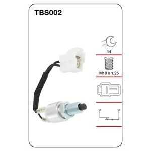 Tridon Switch Stop Light TBS002 fits Daihatsu F Series 2.8 D 4x4 (F60, F65)
