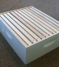 "Medium Honey Super Box Painted with 10 Frames & Foundations, 6 5/8"" Mann Lake"