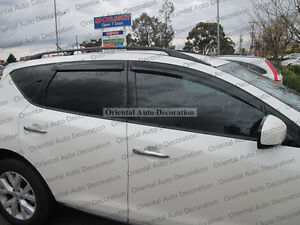 Premium Weathershields Weather Shields Window Visors for Nissan Murano 09-15
