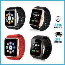Original GT08 Smart Watch Montre Horloge Bluetooth Android iOS 4 COLORS