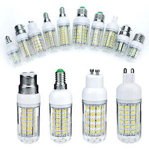 LED Corn Bulb 5730 SMD E27 E14 E12 B22 35W - 85W Equivalent Light Bright Lamp RD