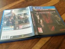 REPLACEMENT CASE For MGS Metal Gear Solid 5 V Phantom Pain NO GAME on Sony PS4