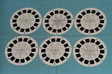 vintage EXPO 67 GENERAL TOUR, NIGHT SCENES, LA RONDE VIEW-MASTER REELS lot x6
