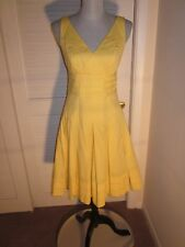 RALPH LAUREN Dress Cotton Yellow Sunshine Size 2 ~ NEW with TAG