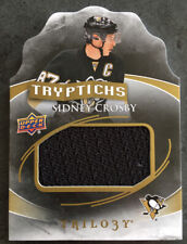 2015-16 Trilogy Sidney Crosby Tryptichs Jersey 041/100 SP - Rare - Only /100!!