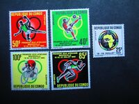 Congo #129-33 Mint Never Hinged - WDWPhilatelic (BX)