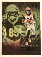 2020 Panini Illusions # 21 Tee Higgins RC RARE Emerald Green Bengals Rookie SP