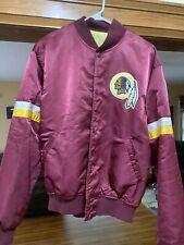 Vintage Starter Washington Redskins Satin Bomber Jacket