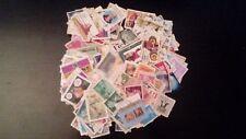 Lote de 1.000 sellos mundiales diferentes