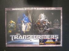 Transformers Exclusive 2 Disc DVD Set