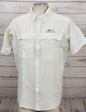 GRUNDENS HOOKSETTER Men's Size Large Lightweight Vented Sport Fishing Shirt New