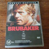 Brubaker DVD R4 Like New! FREE POST